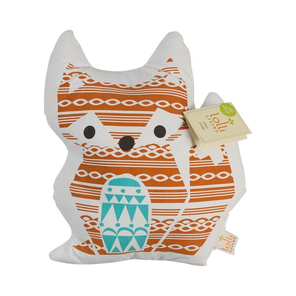Woods Fox Throw Pillow by Lolli Living