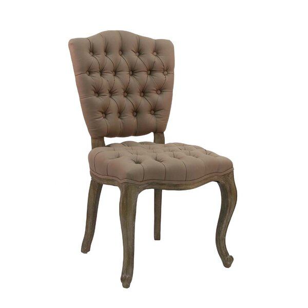 Piaf Fabric Side Chair by Zentique
