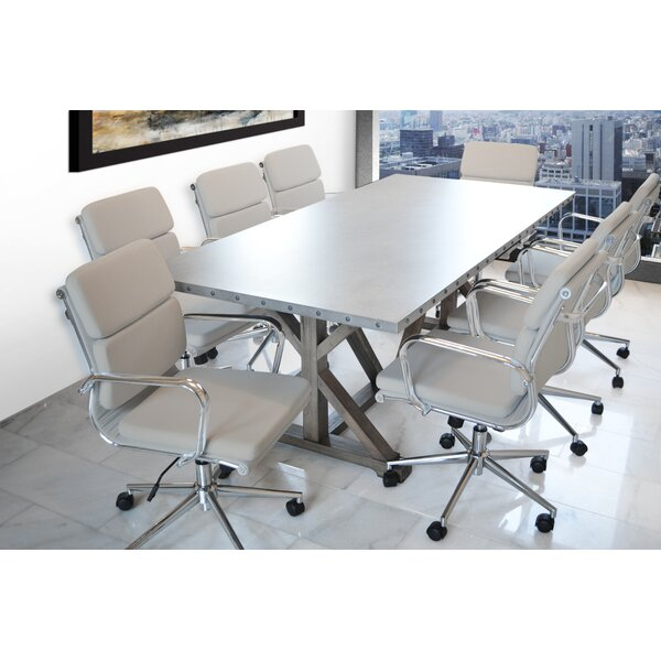 Rhead Rectangular 30H x 40W x 84L Conference Table by Ebern Designs