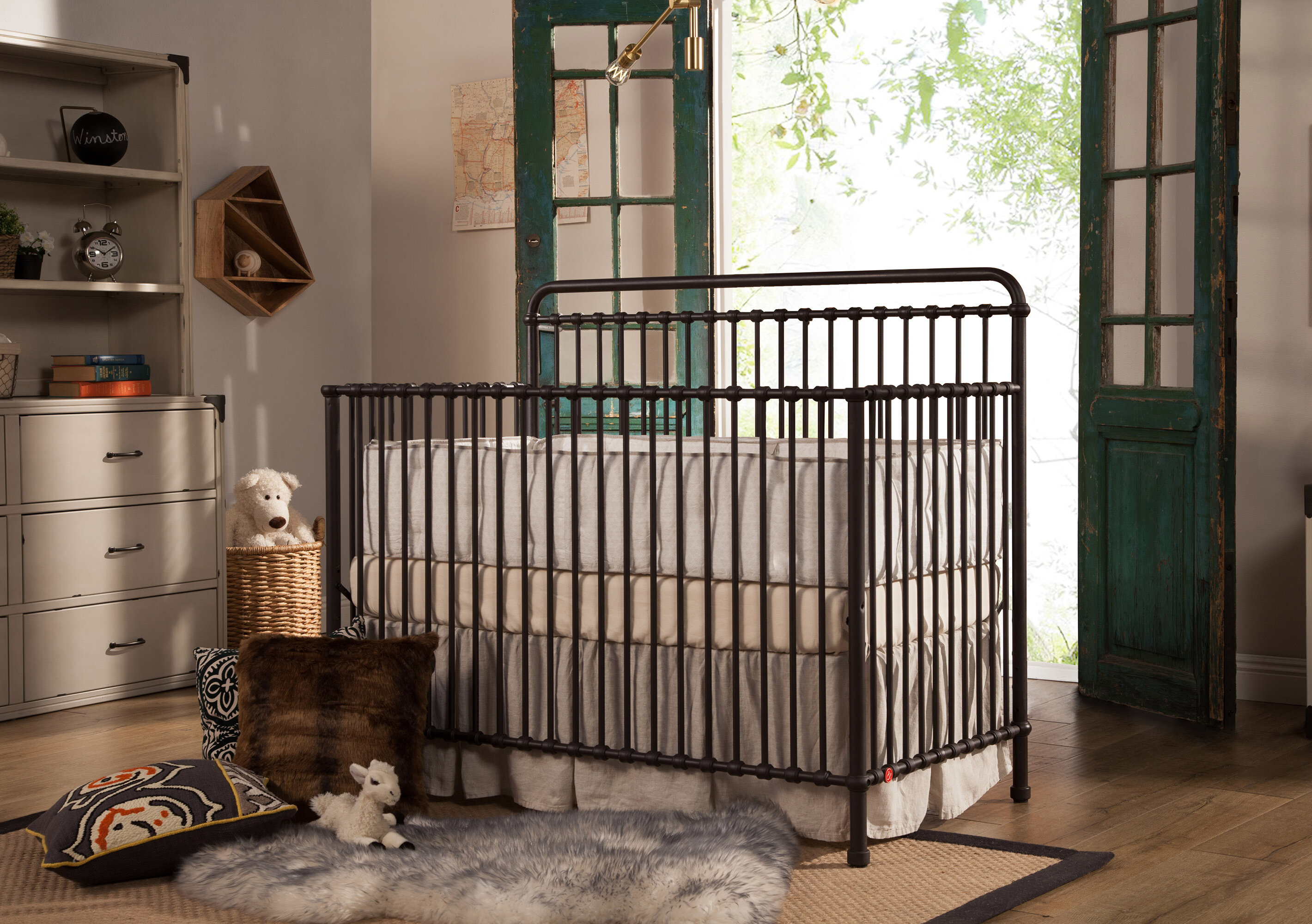 Million Dollar Baby Clic Winston 4 In 1 Convertible Crib Reviews Wayfair
