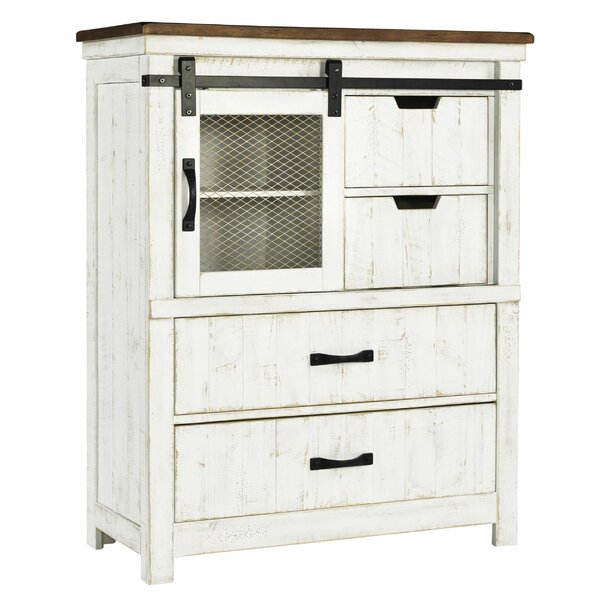 Bourassa 4 Drawer Accent Chest by Gracie Oaks Gracie Oaks
