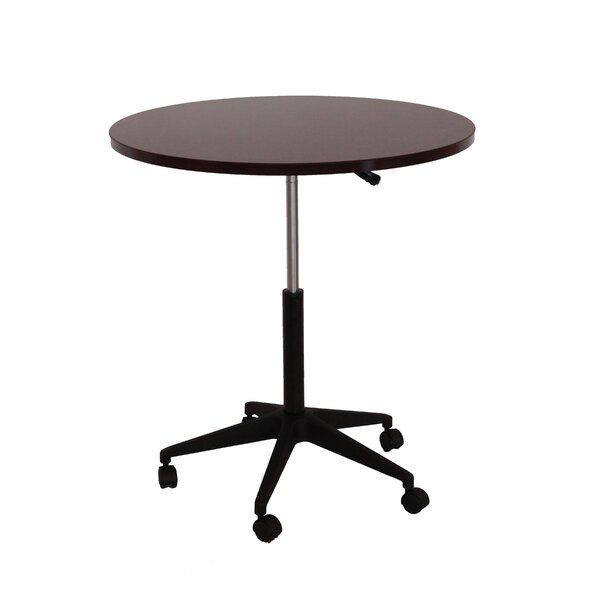 32 Mobile Round Gathering Table by Boss Office Products