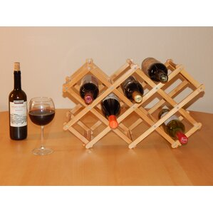 Home 8 Bottle Tabletop Wine Bottle Rack by Timber Valley