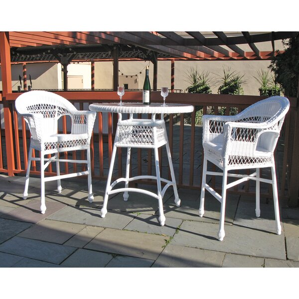 Camacho 3 Piece Bar Height Dining Set by August Grove