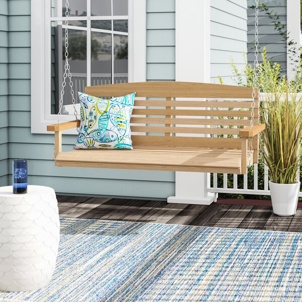 Dyal American Cedar Porch Swing by Breakwater Bay