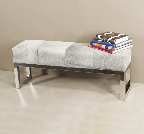 Genuine Leather Moro Storage Bench by Interlude Interlude