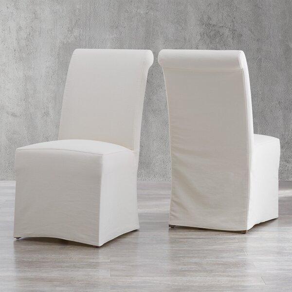 Geraldina Linen Upholstered Parsons Chair (Set of 2) by Birch Lane?? Heritage Birch Lane�?? Heritage