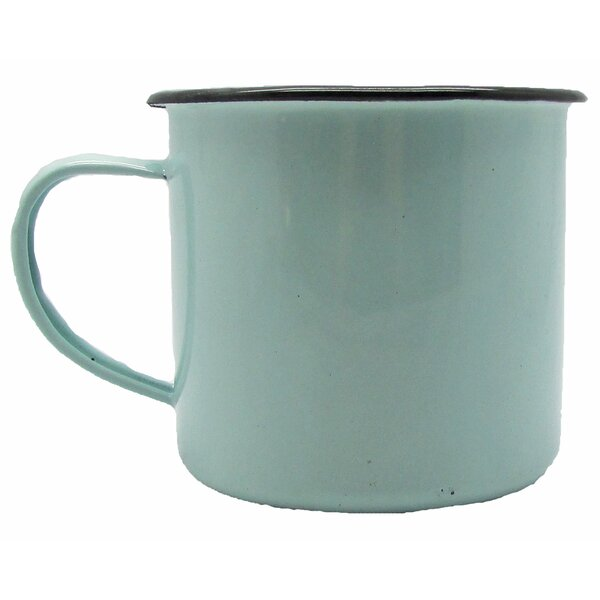 Old Metal Wash Tub Enamelware Mug Scented Novelty Candle by Gracie Oaks