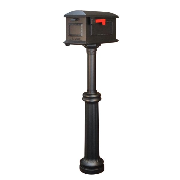 Traditional Curbside Mailbox with Post Included by Special Lite Products