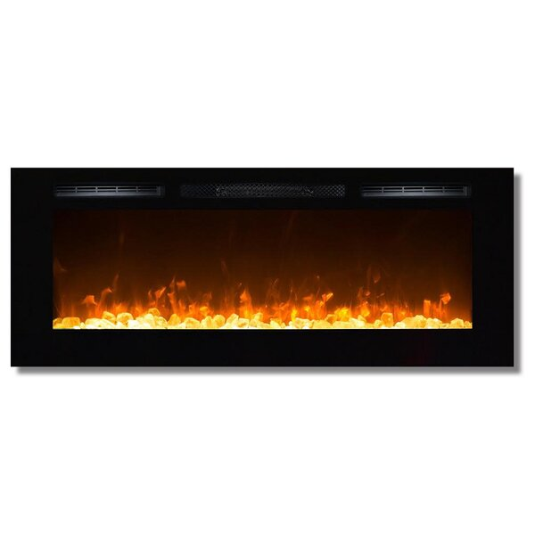 DeMotte Wall Mounted Electric Fireplace by Modern Rustic Interiors