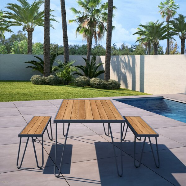 Paulette 3 Piece Dining Set by Novogratz
