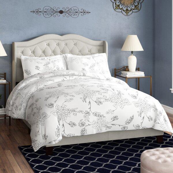 Omari Upholstered Standard Bed by Charlton Home