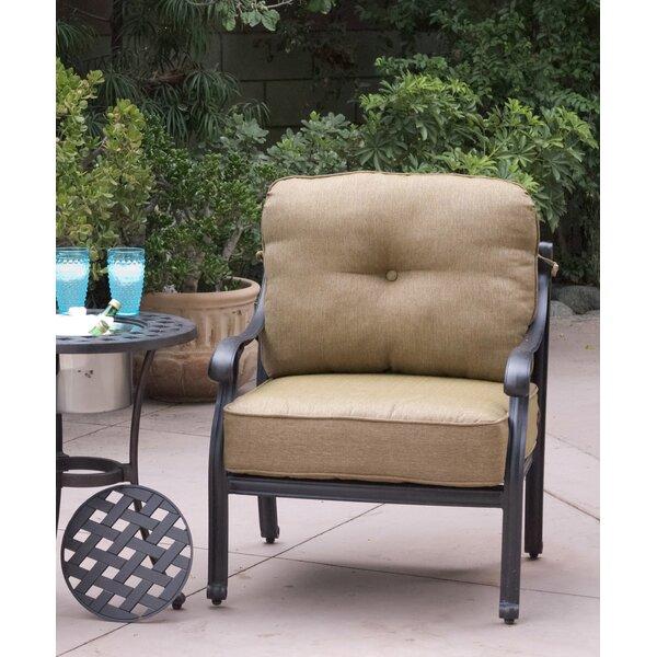 Lincolnville Patio Chair with Cushions (Set of 4) by Fleur De Lis Living Fleur De Lis Living