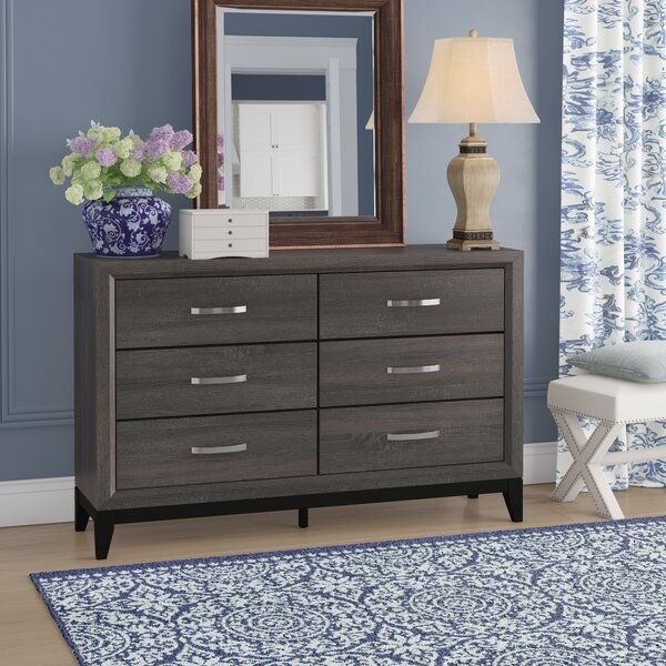 Beare 6 Drawer Double Dresser by Ivy Bronx