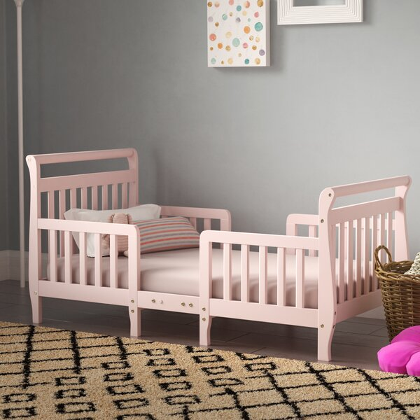 Rubin Convertible Toddler Bed By Viv + Rae by Viv + Rae Great price