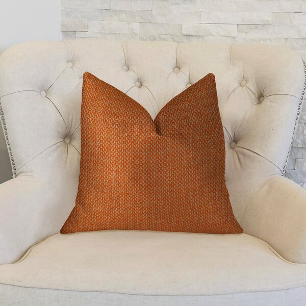 Lone Oak Cayenne Handmade Throw Pillow by Plutus Brands