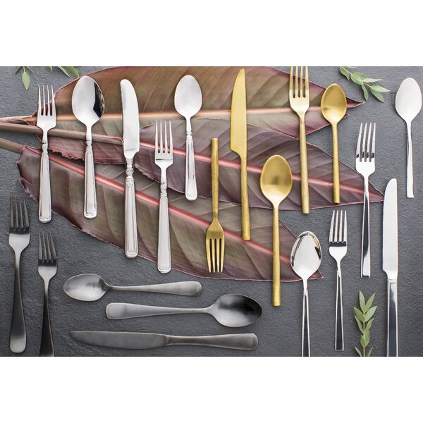 65 Piece Stainless Steel Flatware Set by Reed & Barton