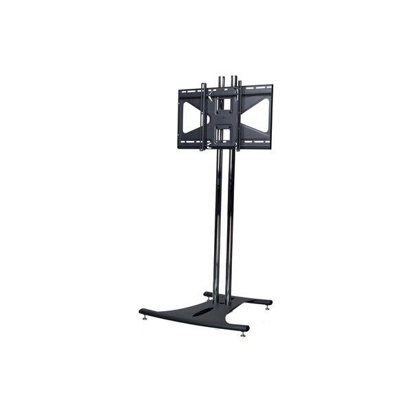 Floor Stand with 84 Dual Poles and Tilting Mount by Premier Mounts
