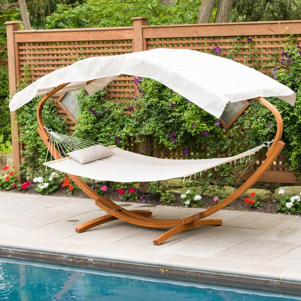 PVC-coated polyester Hammock with Stand by Leisure Season