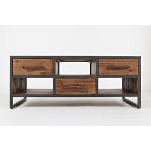 Apollonia Transitional Wooden Coffee Table By 17 Stories