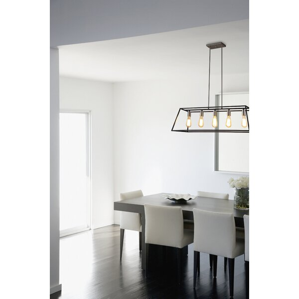 Agnes II 5-Light Kitchen Island Pendant by Ove Decors
