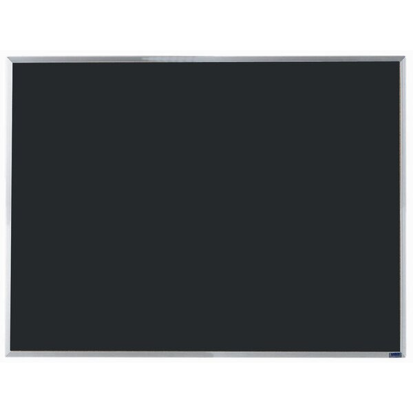 Economy Composition Wall Mounted Chalkboard by AARCO