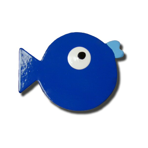Handpainted Fish Novelty Knob by One World