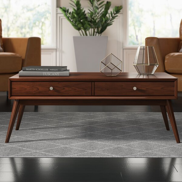 Norberg Coffee Table with Storage by Mercury Row