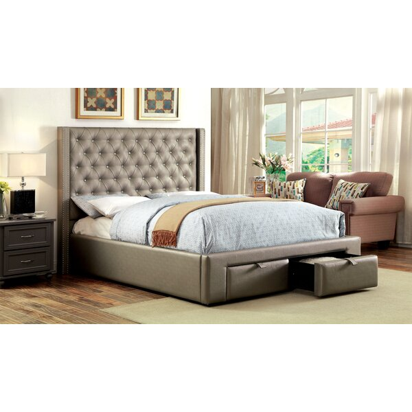Skegness Upholstered Storage Platform Bed by House of Hampton