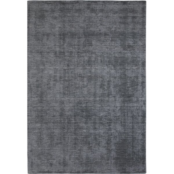 Loring Hand-Tufted Gray/Blue Area Rug by Red Barrel Studio