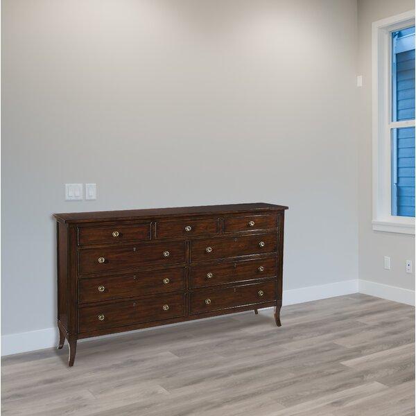Ellianna 9 Drawer Standard Dresser by Darby Home Co