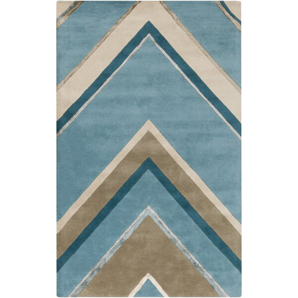 Modern Classics Handmade Blue Area Rug by Candice Olson Rugs