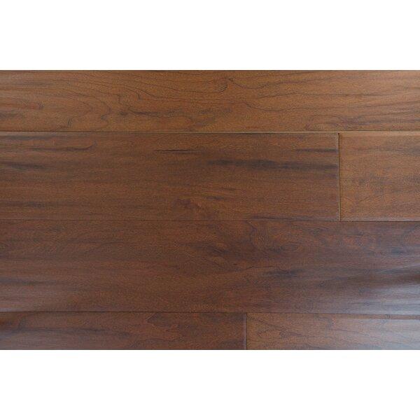 Marseille 6 x 54 x 8mm Cherry Laminate Flooring in Brown by Branton Flooring Collection