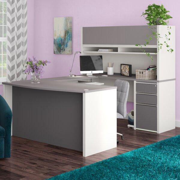 Karla 2 Piece U-shaped Desk Office Suite by Latitude Run