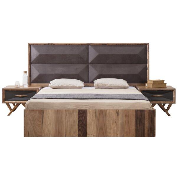 Asha Upholstered Platform Bed by Brayden Studio