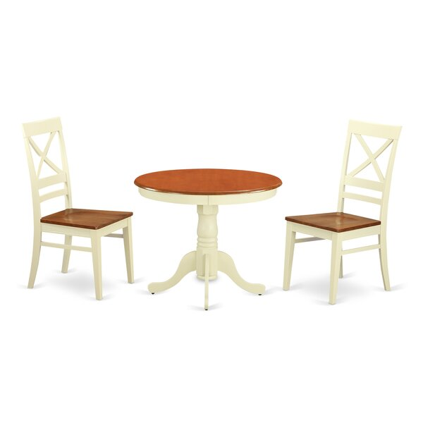 Stagg 3 Piece Dining Set by Charlton Home Charlton Home