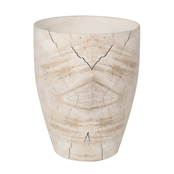 Layla Cracked Ceramic Table Vase by Union Rustic