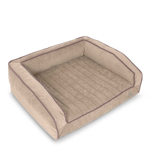 Crown Supreme Bolster Dog Bed by BuddyRest