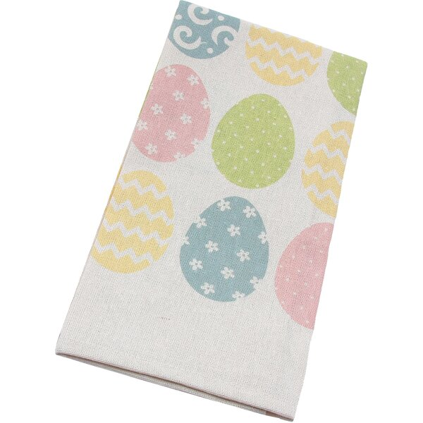 Bunny Eggs Printed Easter Kitchen Towel (Set of 4) by Xia Home Fashions
