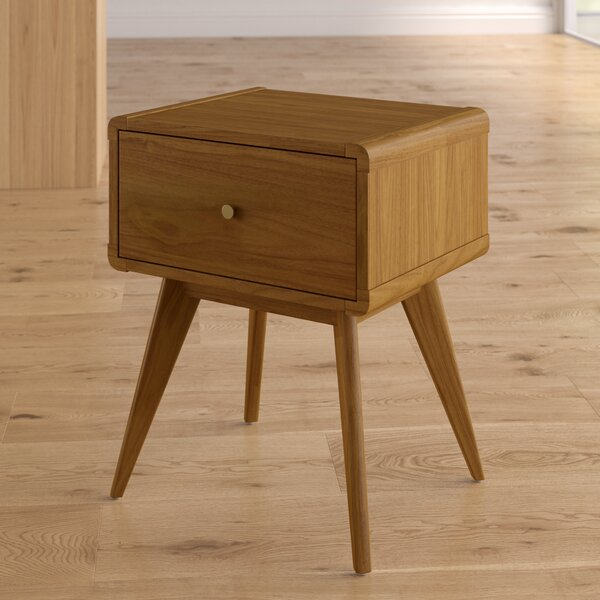 Garvey 1 Drawer Nightstand by Langley Street