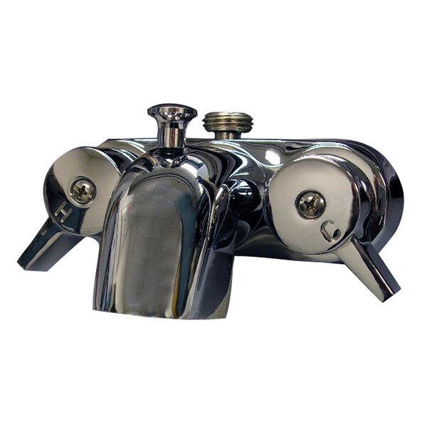 Double Handle Wall Mounted Tub Spout Trim With Diverter By Barclay