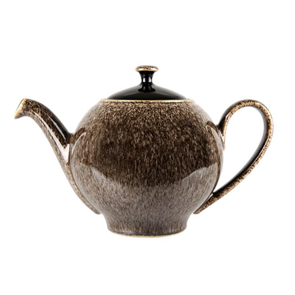 Praline and Praline Noir 1.13-qt. Teapot by Denby