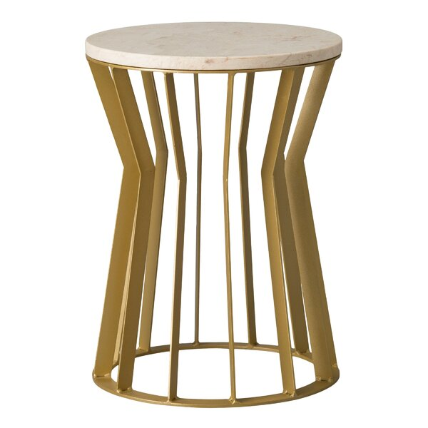 Dudek Accent Stool by Corrigan Studio