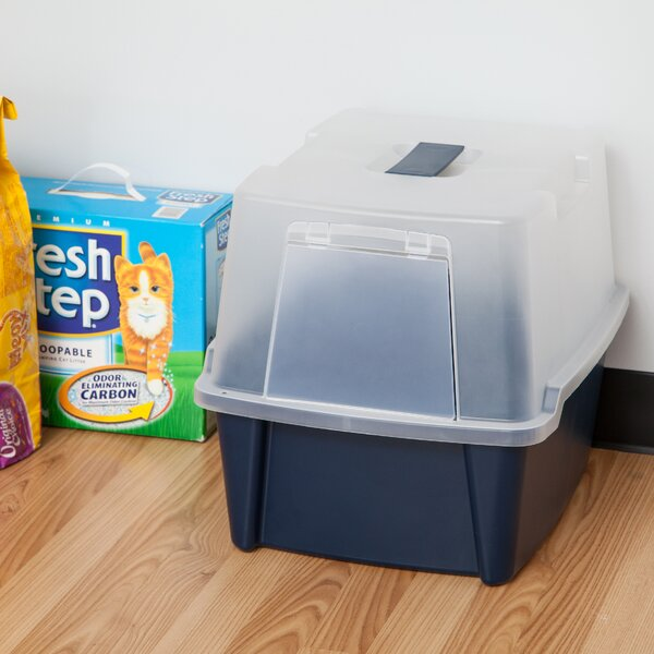 Randal Hooded Litter Box by Tucker Murphy Pet