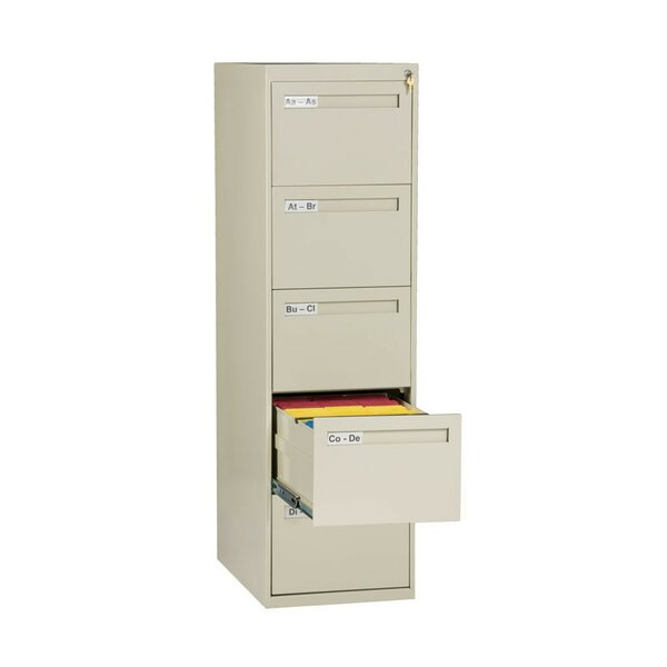 5 Drawer Vertical Legal Size File Cabinet by Tennsco Corp.