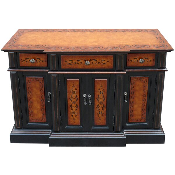 Cerda Wooden 3 Drawer Accent cabinet by Fleur De Lis Living