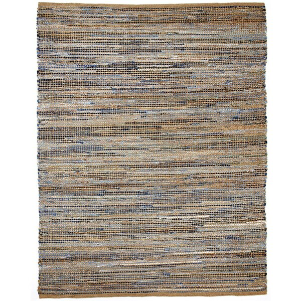 Amit Hand-Woven Brown Area Rug by Beachcrest Home