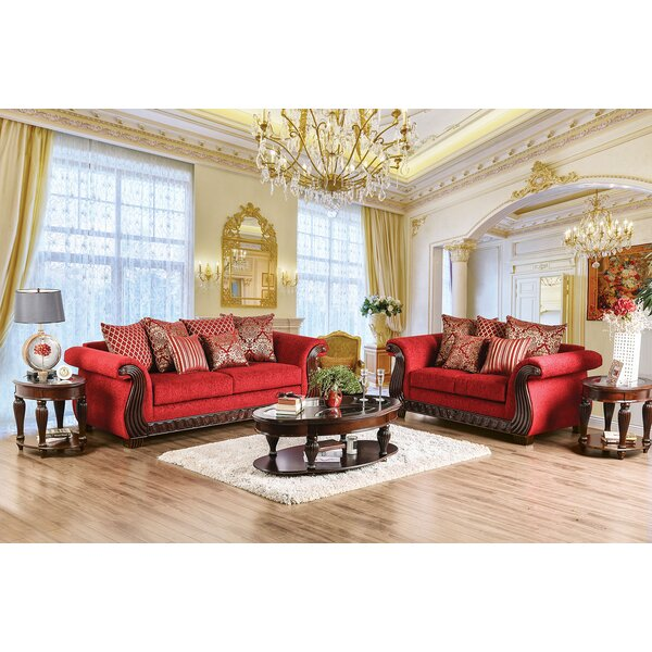 Crosland 2 Piece Living Room Set by Fleur De Lis Living