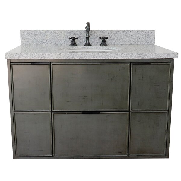 Arthur Wall Mount 37 Single Vanity by Bloomsbury Market
