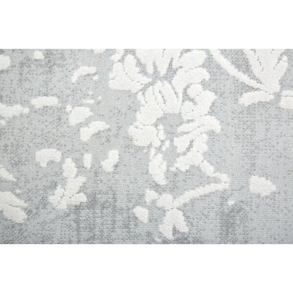 Kamen Gray Area Rug by Charlton Home